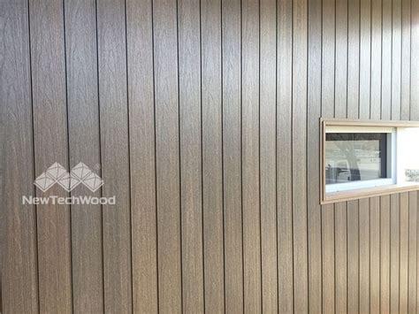newtechwood shiplap siding installing vertically