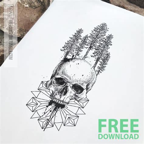 geometric tattoo oslo therawflow grab this skull mandala tattoo design for