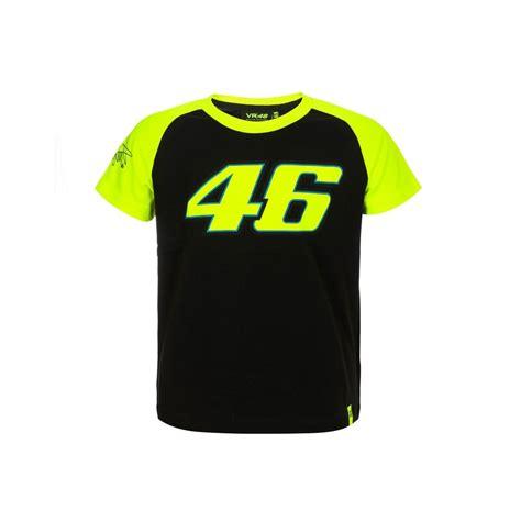 T Shirt 46 Black valentino vr46 kid 46 t shirt from 195 mph uk