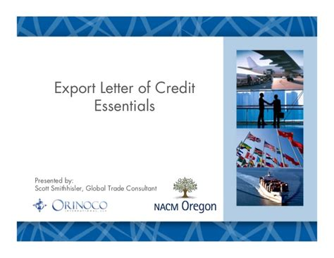 Export Letter Of Credit nacm lc class feb2012