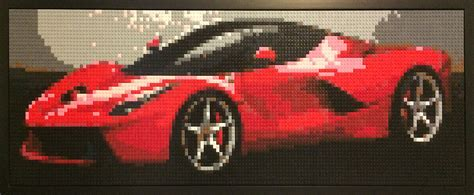 how to make a car out of index cards legoaizer from picture to brick photo mosaic