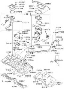 2005 hyundai tucson fuel tank