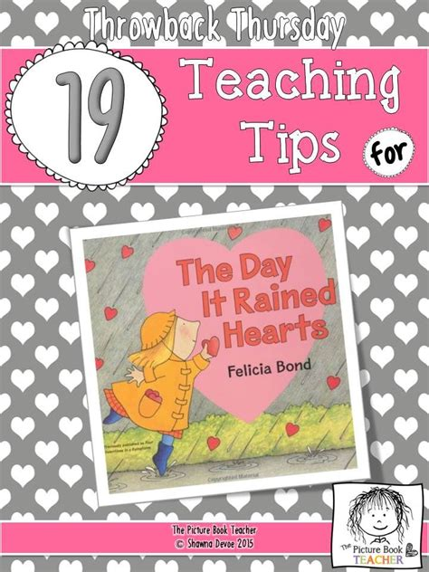 throwback thursday s day edition the picture book s edition throwback thursday 19 teaching tips for the book the day it