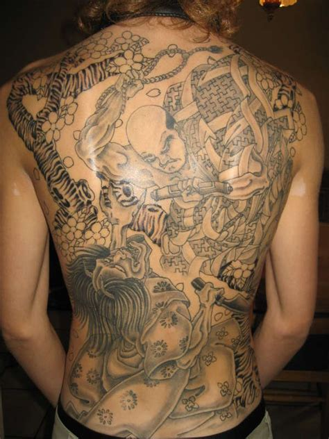 tattoo back piece japanese japanese back piece tattoos related keywords japanese