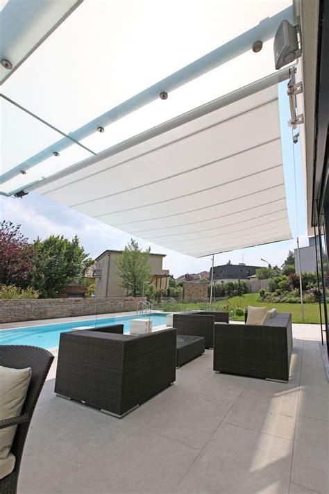 Sonnensegel Terrasse Wasserdicht 40 by Einseitig Ausfahrbares Sonnensegel Sunsquare Axis 40