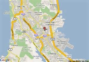san bruno california map map of staybridge suites san bruno san bruno