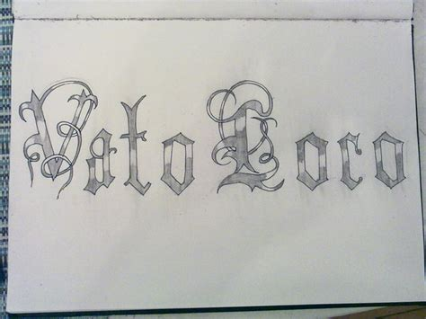 vato loco tattoos vato loco by sh4k3rs on deviantart