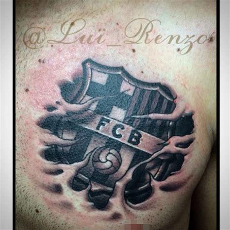 tattoo logo barca ig lui renzo barcelona logo luirenzotattoos pinterest