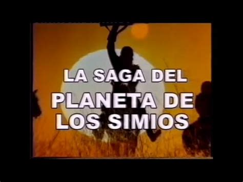 el planeta de los simios la saga documental completo