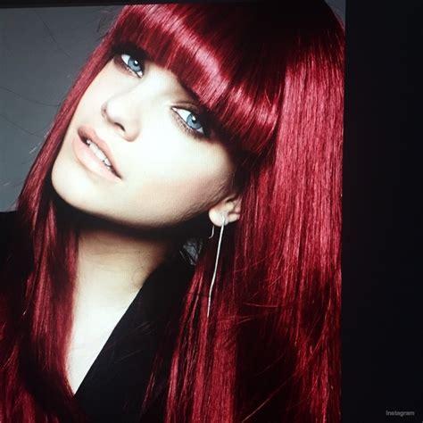 colors hair studio karlie redd karlie kloss barbara palvin with red hair for l oreal
