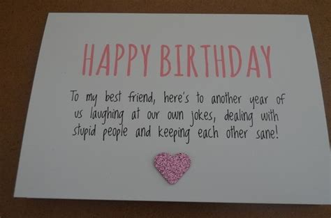 What To Put In A Friends Birthday Card