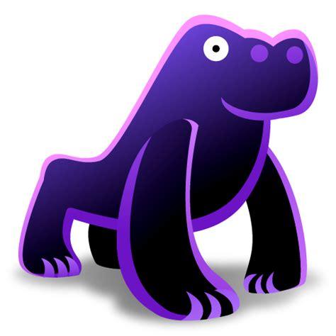 imagenes png 128x128 gorilla icon animal toys iconset fast icon design