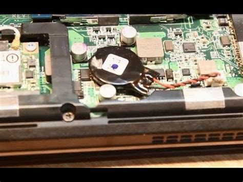 acer aspire  laptop bios password removal cmos batt