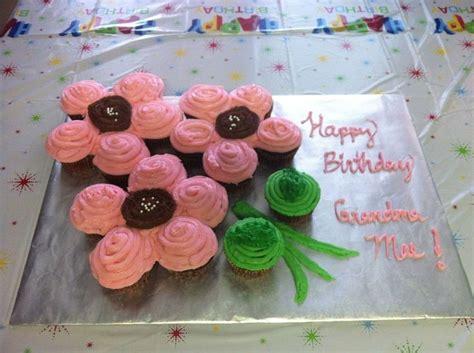 flowercupcakecake  flower pull  cupcake cake  album cupcakes childrens crafts