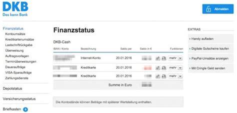 iban dkb bank bewertung dkb girokonto mit visa kreditkarte in der