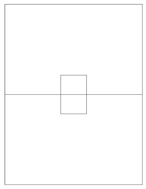 card outline template printable pop up cards