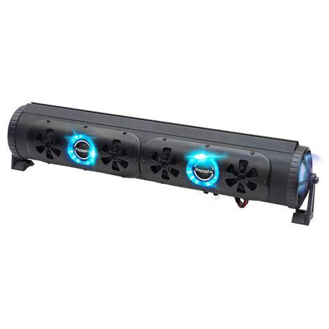 eluma lights speaker system bazooka 450w 24 inch bluetooth party bar off road sound