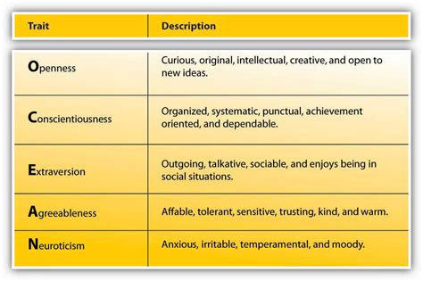 personality traits 2 1 personality and values