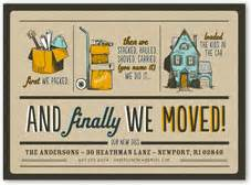 we re moving cards photo moving announcements shutterfly