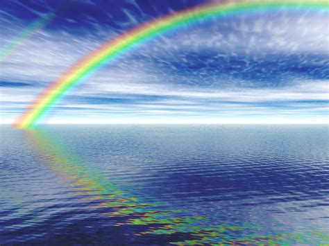 rainbow water how is a rainbow formed harry tombs