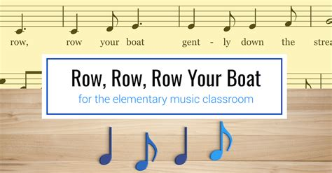 row your boat time signature the yellow brick road blog