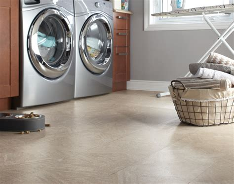 cork flooring modern laundry room by floorsfirst canada