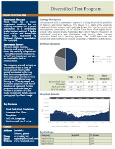 Fund Fact Sheet Template by Topsheets Fund Factsheet Production Products Fundpeak