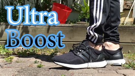 Fo St Bost On Amrik Navy adidas ultra boost black up on w different