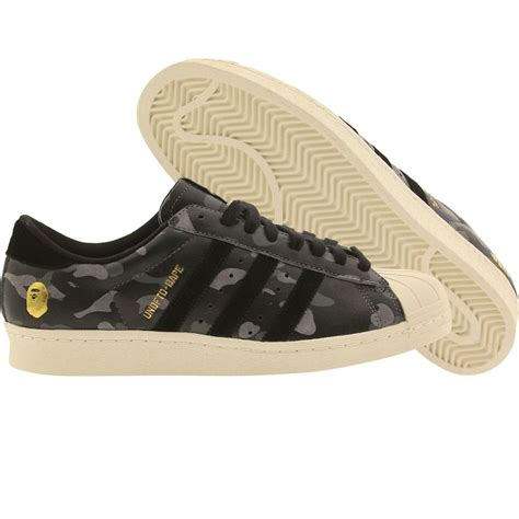 Adidas Superstar Camoflage Black undefeated x bape x adidas superstar 80v black black camo