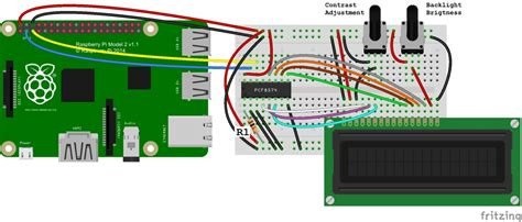 resistors for raspberry pi how to setup an i2c lcd on the raspberry pi circuit basics