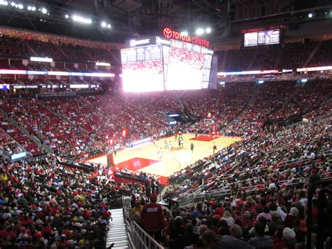 toyota center toyota center houston rockets stadium journey