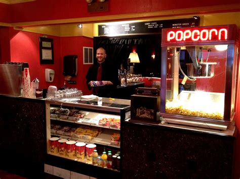 theater wedding concession stand  themed