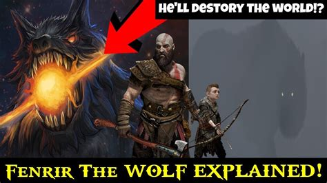 0008183848 war of the wolf god of war ps4 old theory the wolf fenrir explained
