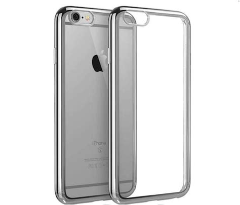 Casing Iphone 7 Back Soft Side Hippo With Bird silver electroplated chrome sides tpu gel clear for iphone 7 4 7 cover concepts