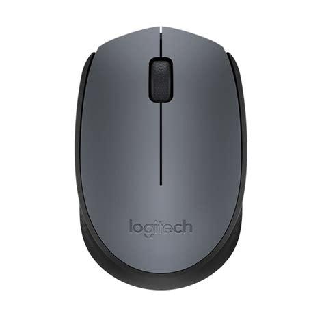 Mouse Logitech Wireless Surabaya logitech wireless mouse m171 gray jakartanotebook