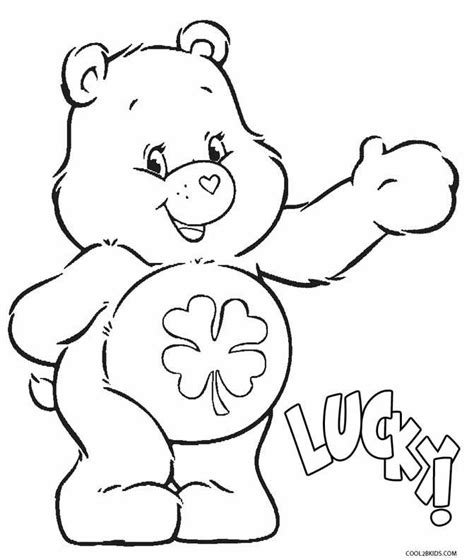 coloring pages luck 17 best images about care luck 4 on