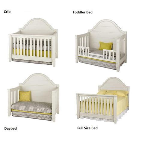 white convertible baby cribs million dollar baby classic sullivan 4 in 1 convertible