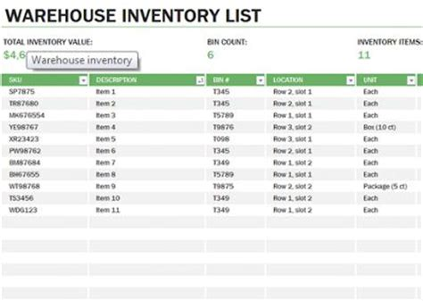 How To Learn Spreadsheets For Free by Learn Microsoft Excel Warehouse Inventory Template Free