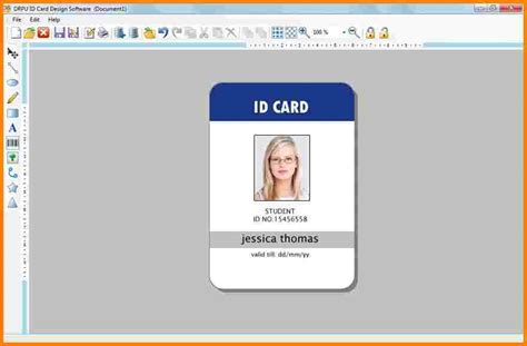 staff id badge template 5 employee badge template free invoice letter