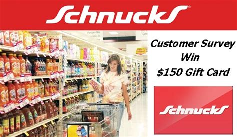 Schnucks Gift Card - win 150 gift card in schnucks please rate us survey sweeps sweepstakesbible