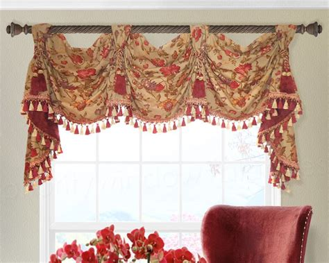 victory valance curtains traditional victory swag valance pwv custom valances