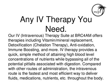 Detox Iv Chelation Therapy by Iv Therapy In Boca Raton