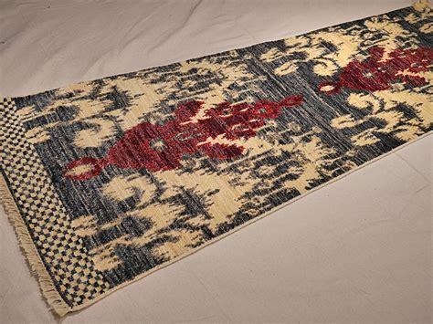ikat runner rug ikat runner rugs nomad rugs