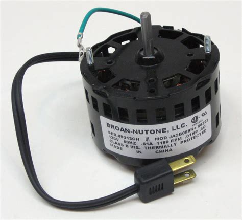 broan bathroom fan motor replacement 86323000 broan nutone bathroom exhaust vent fan motor ja2b089n 86323 oem ebay