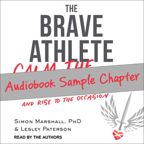 the brave athlete calm the f k and rise to the occasion books the brave athlete
