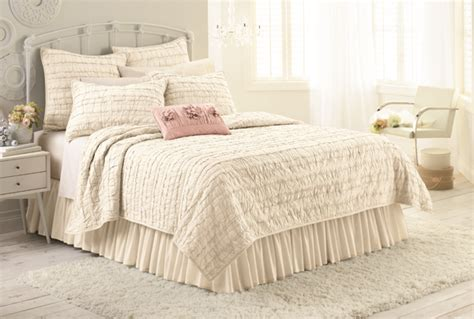 Kohls Bedspreads And Comforters by Conrad Launches Kohl S Bedding Collection Covered In Ruffles Bows Flowers Drjays