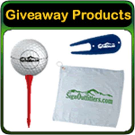 Golf Tournament Giveaway Ideas - golf outing and golf tournament products ideas