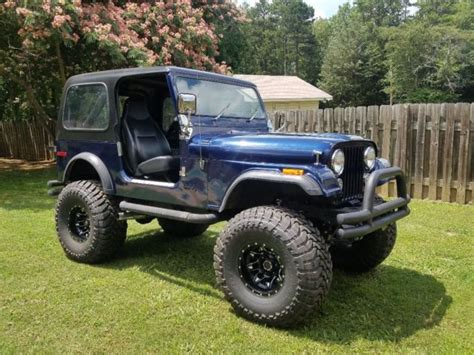 1976 jeep cj7 with chevy 350 and sm420 4 and see build
