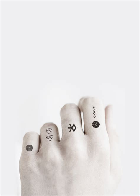 exo chanyeol hand tattoo via tumblr can i do this art pinterest exo