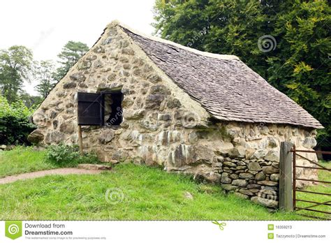 Small English Cottages Vieille Maison En Pierre Image Stock Image Du Closeup